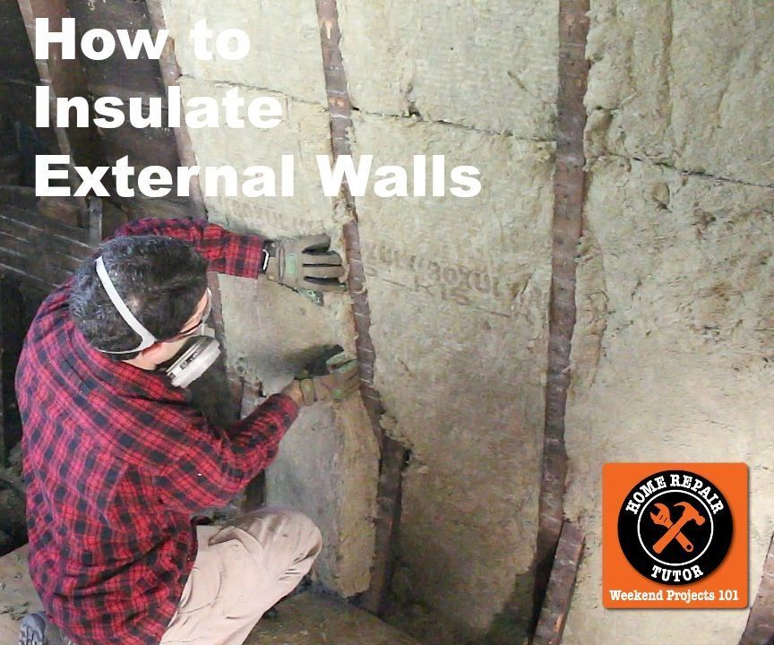 How to Insulate External Walls