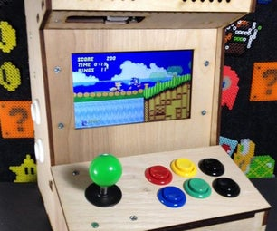 Build Your Own Mini Arcade Cabinet With Raspberry Pi