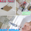 FOOT PEDAL ACTIVATED WATER TAP