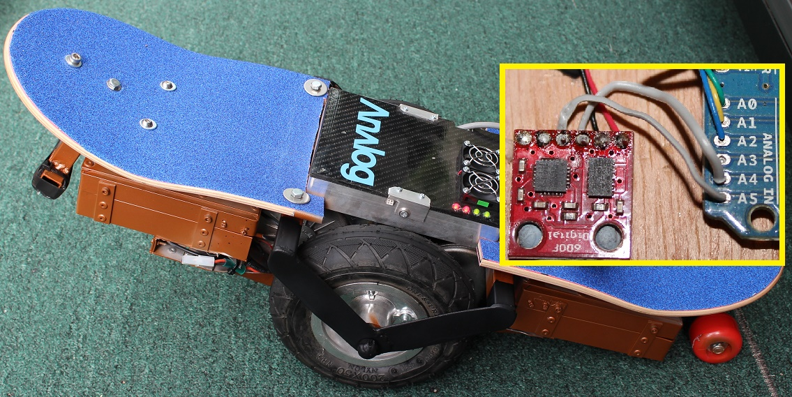 Arduino Self-Balance Controller using DIGITAL IMU, at last!