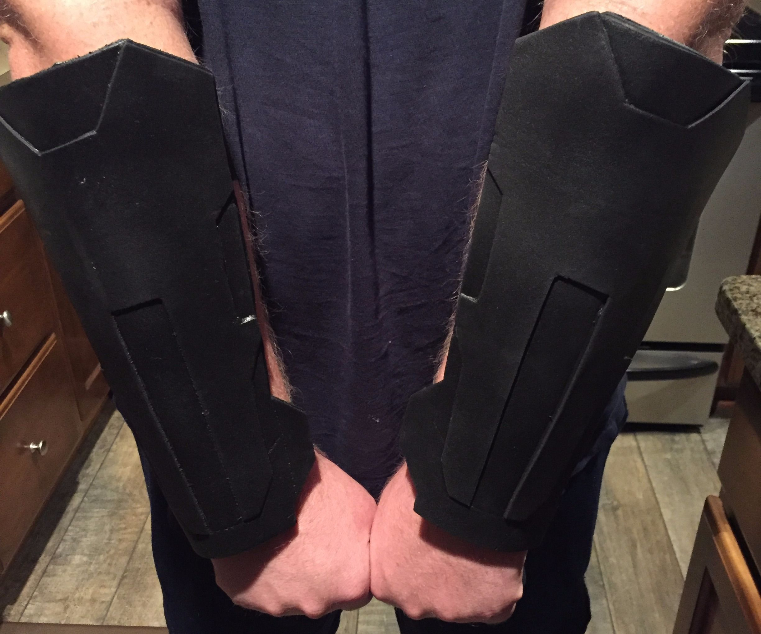 Craft Foam Batman Alternate Universe Gauntlets