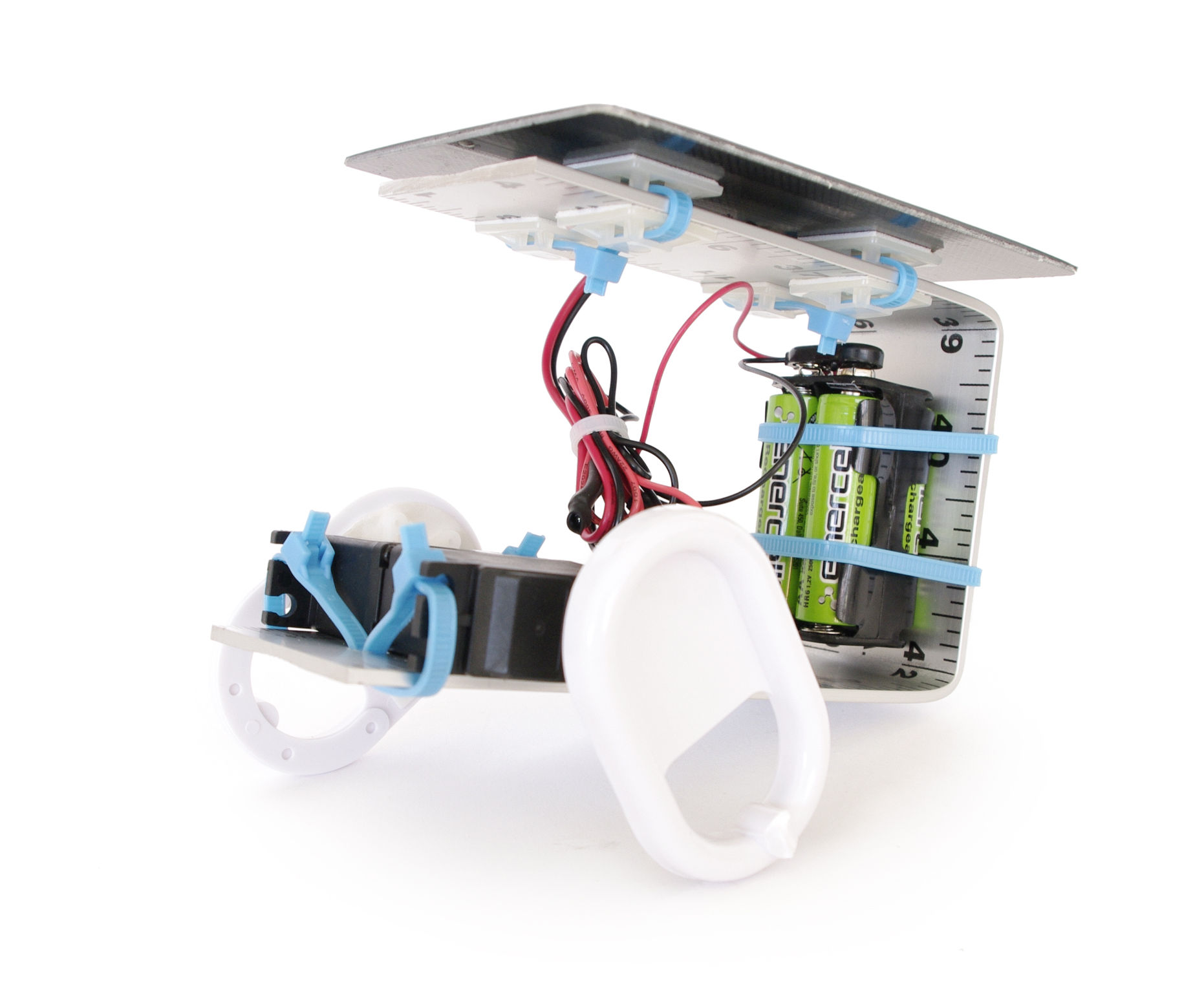 Solar-Powered Robot