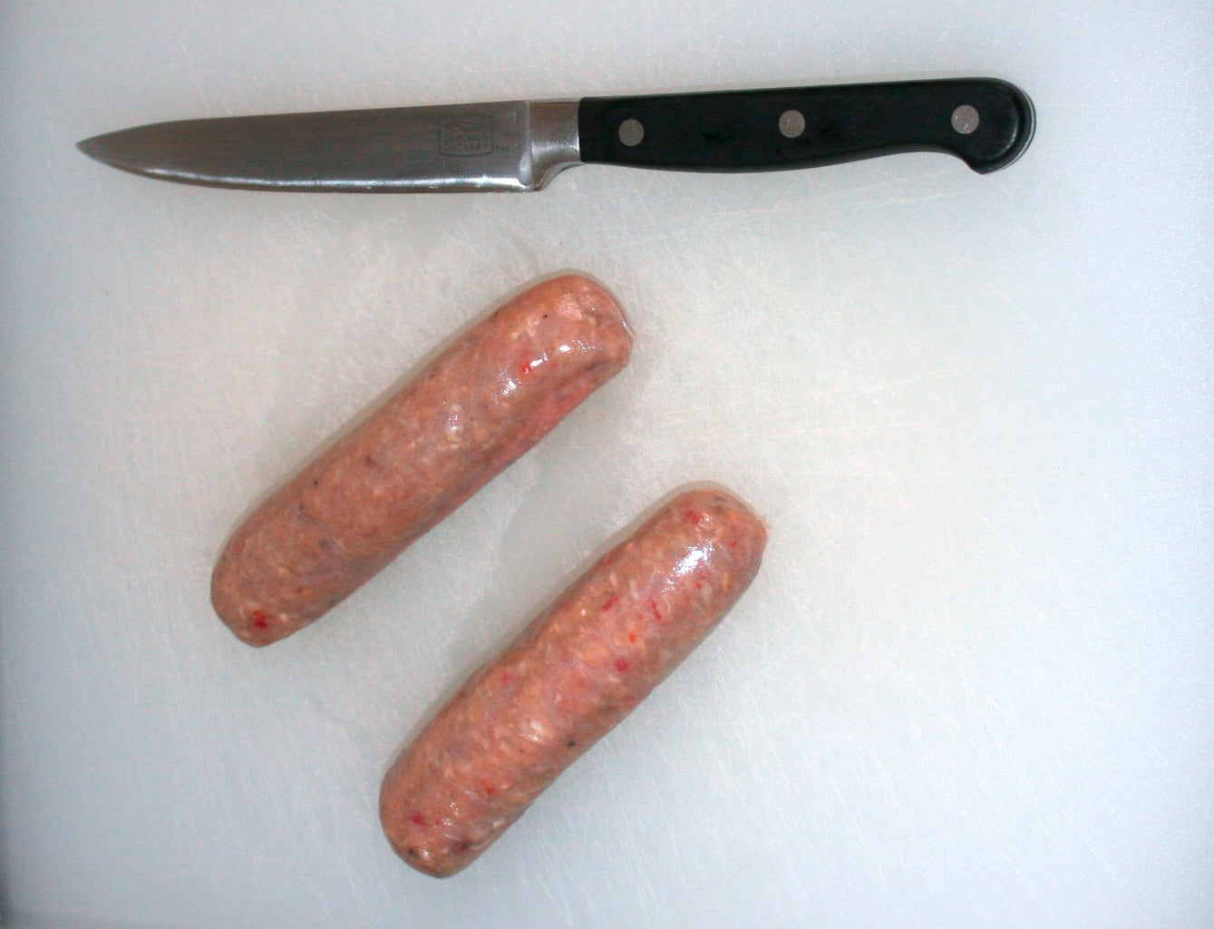 Cut Sausage Legs and Nose