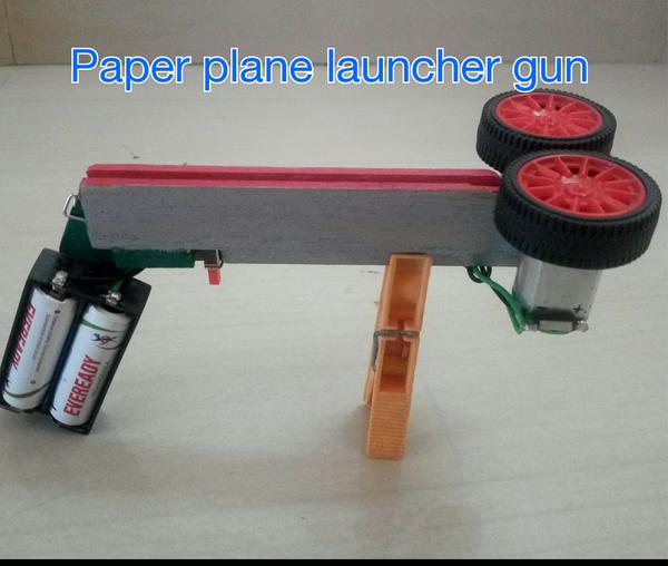 Paper Plane Launcher Gun