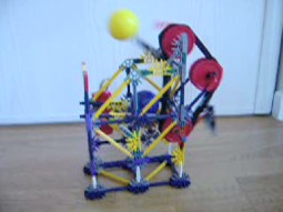Project N (Knex Ball Machine) - The Smallest and Most Pointless Ball Machine Ever