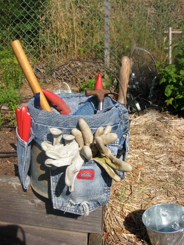 Garden Tool Bucket Caddy