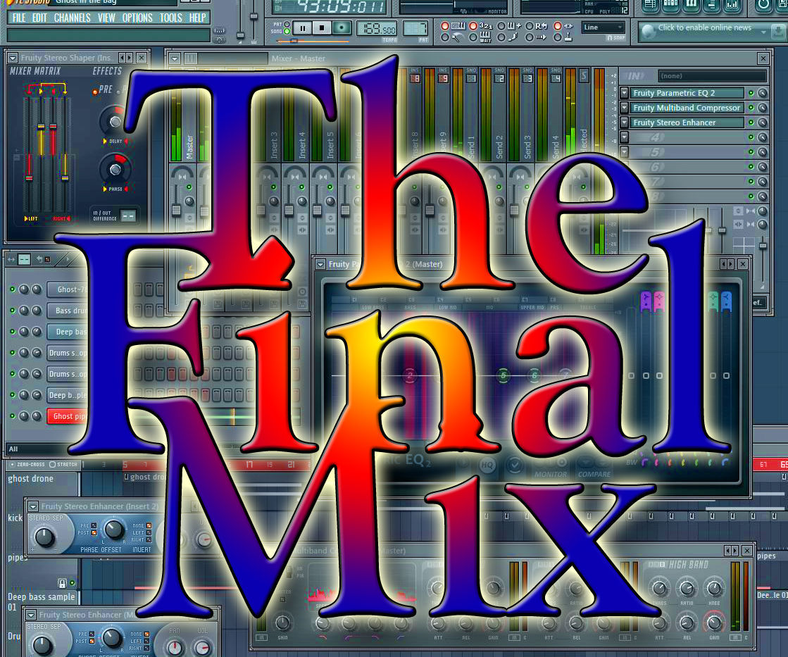 Music Record Mastering – The Final Mix