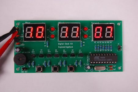 How to Make a Digital Clock Kit Based on Atmel