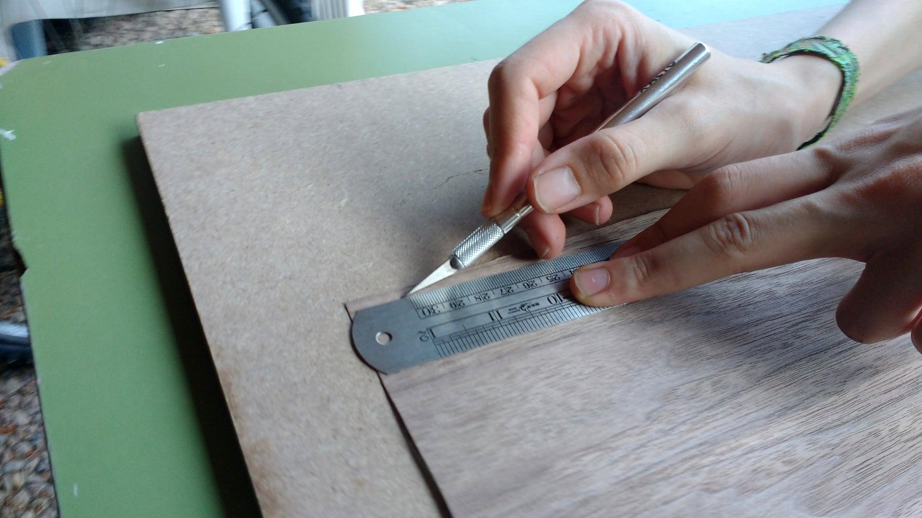 Preparing the Veneer Strips