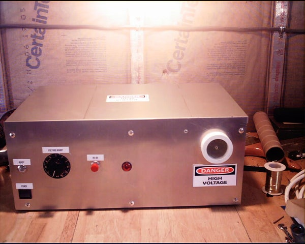 Build a Variable High Voltage Power Supply