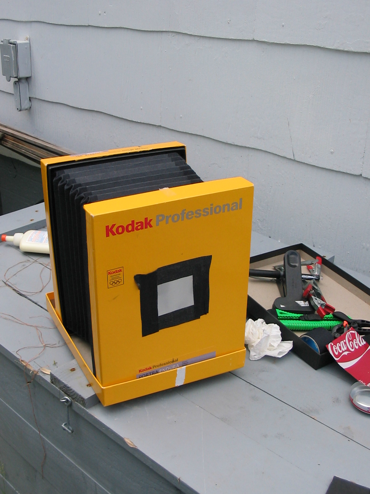 8X10 foldable pinhole camera