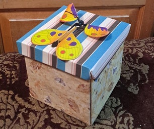 Butterfly Explosion Box