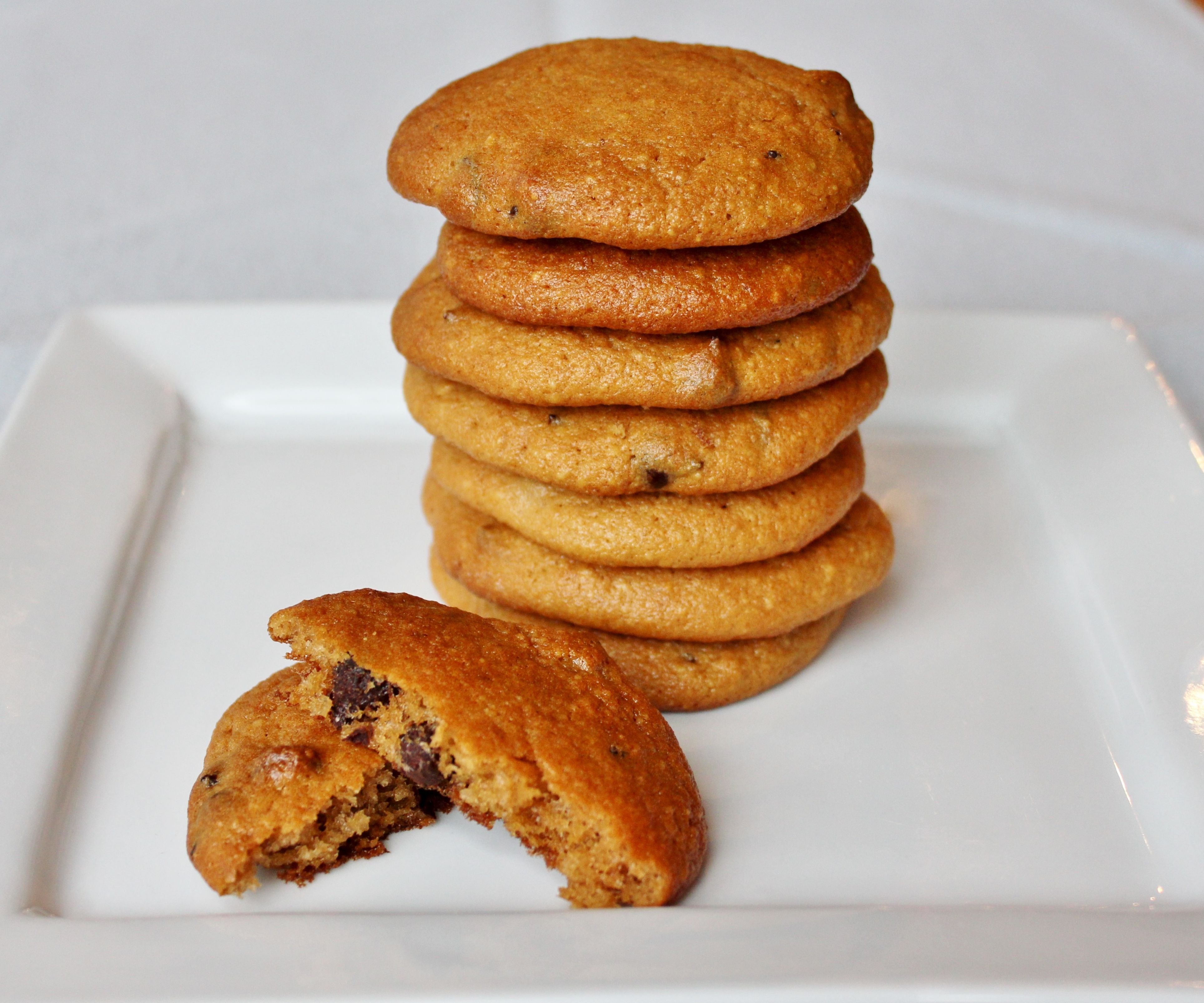 Sweet Potato Cashew Cookies (gluten/grain/dairy free)