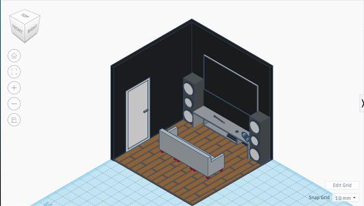 Isometric Gaming Room