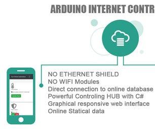 ARDUINO INTERNET CONTROLLED