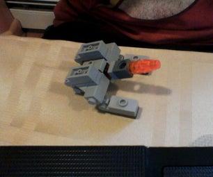 Mini Lego Transformers: G1 Galvatron