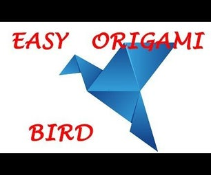 How to Make an Origami Bird