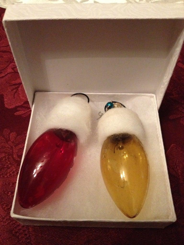 Festive Lighbulb Earrings