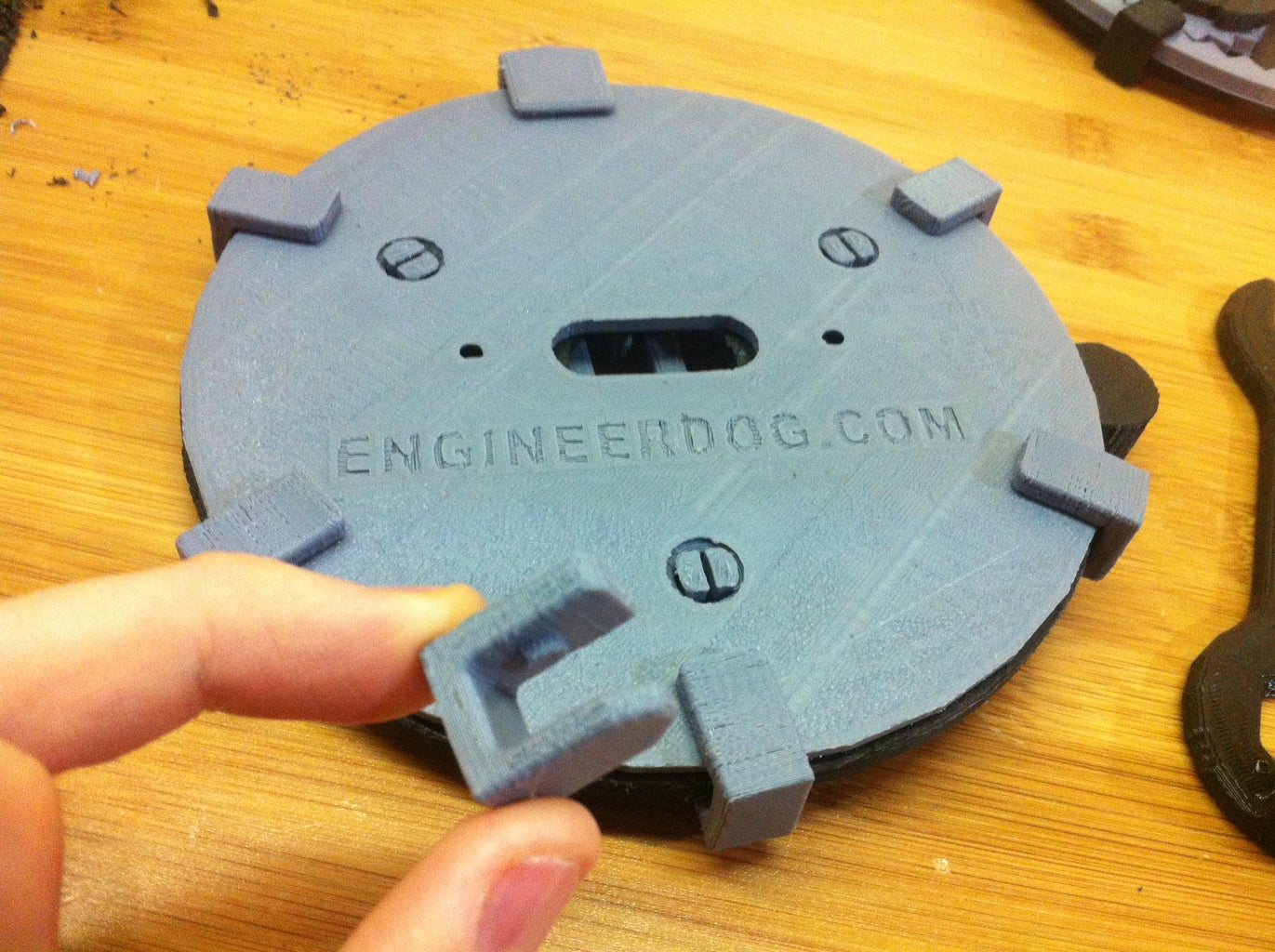 Printing & Assembly Instructions for Geared Light Switch