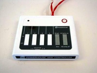 DIY X-10 AC Power Sensor