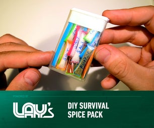 DIY Survival Spice Pack
