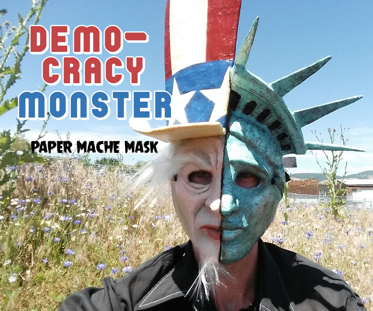 Democracy Monster Mask