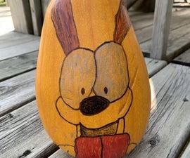 Adorable Odie Pumpkin