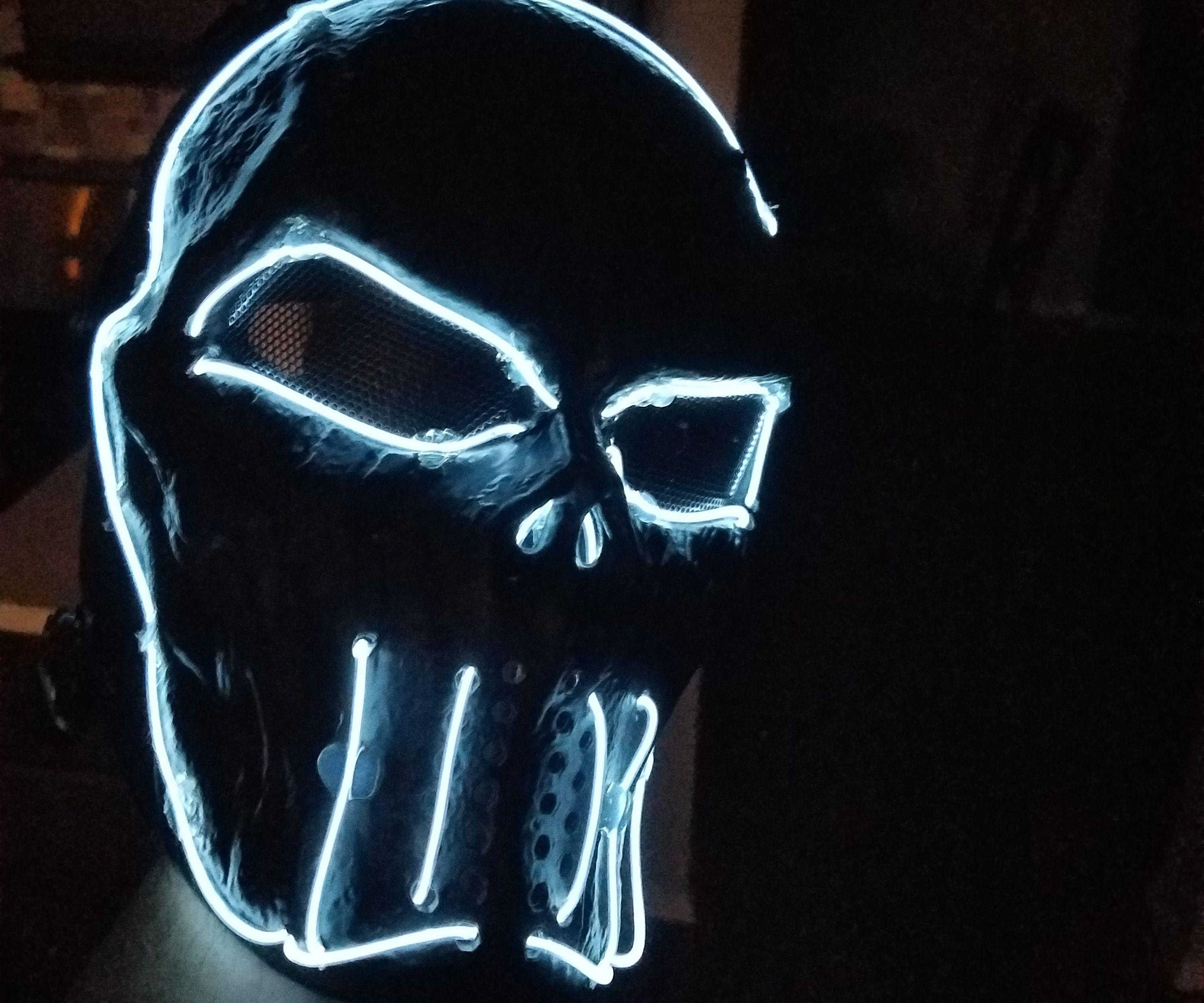 Lite up Mask