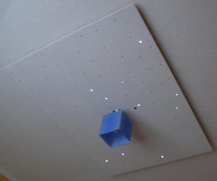 Starry Ceiling for Kids Bedroom