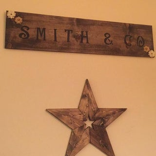 How to Make a 24 Inch Wooden Star With a 2x4