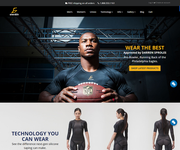 Enerskin - Compression Clothes.