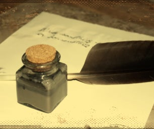 Quill Pen & Ink
