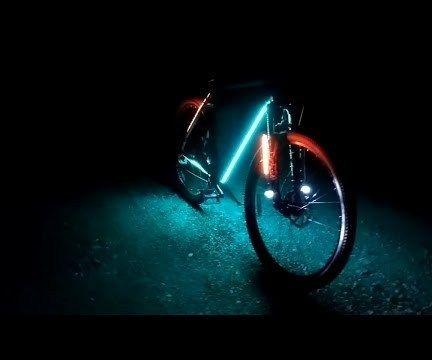 Ultimate Riding LED Bike