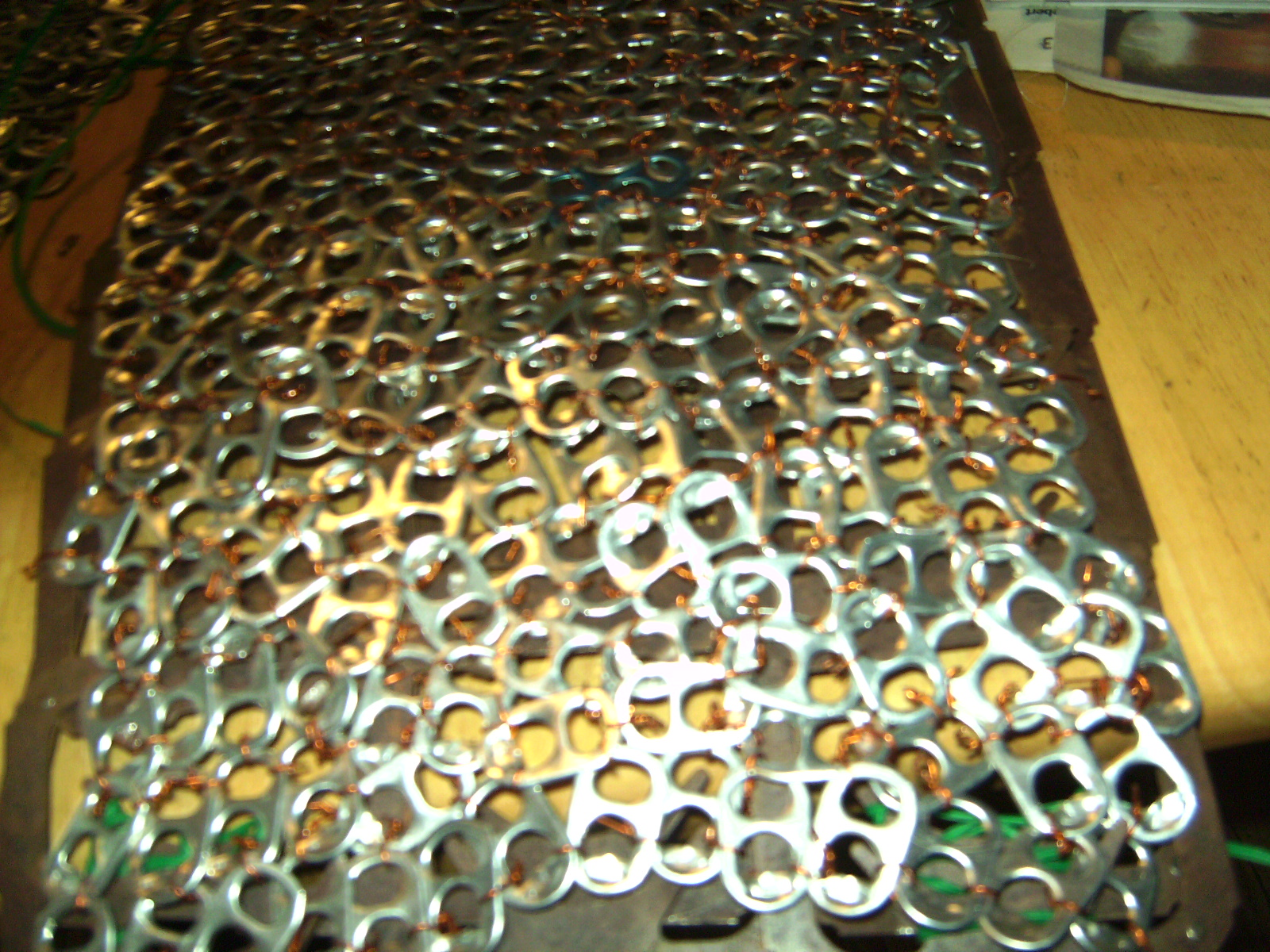 can tab chain body armour