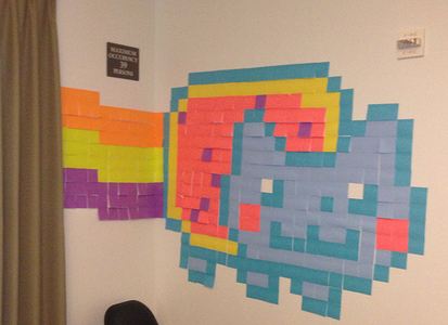 Decide Weather to Do It Digitally (Minecraft) or the Old Fashioned Way Using Post-its