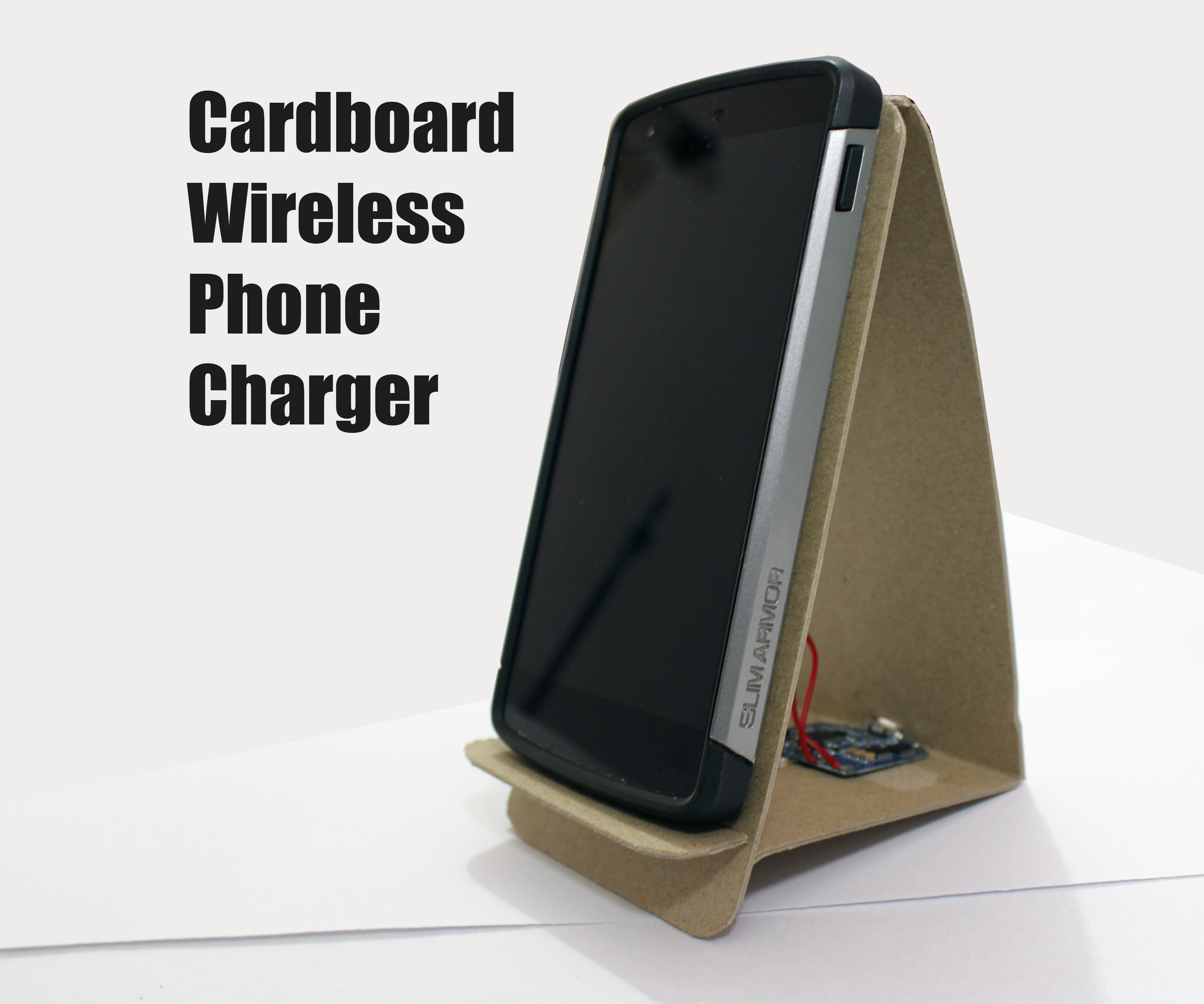 Cardboard Wireless Charger