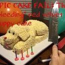 Bleeding Puppy Cake Fail