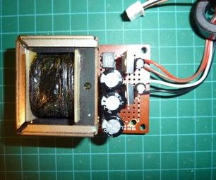 A Simple 5V, 12V Power Supply to Fix an Internet Radio