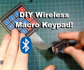 DIY Bluetooth Macro Keypad