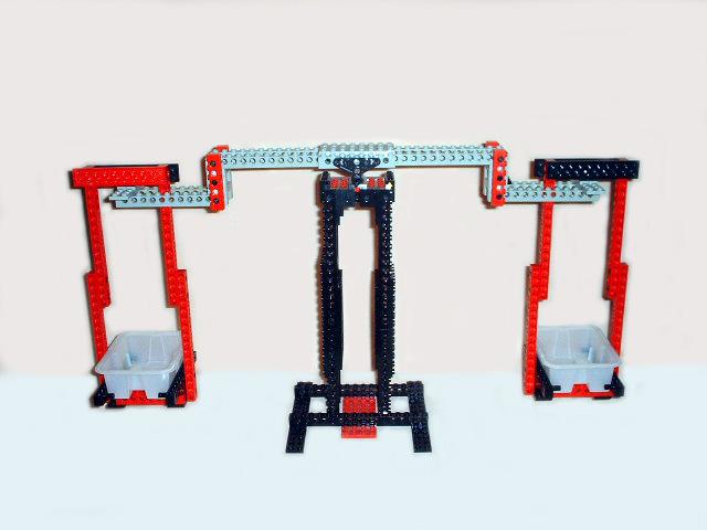Lego pan balance