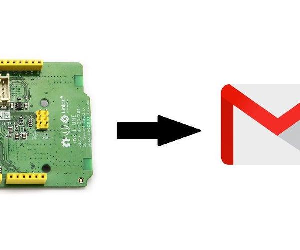 Linkit One IoT: Sending Alert Email