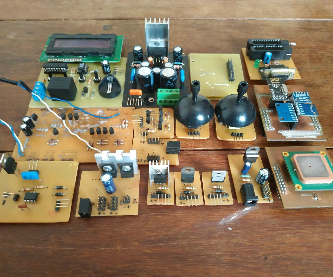 PCB Designing&etching Overview