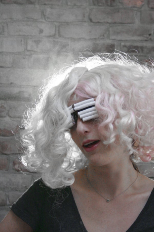 Lady Gaga Cigarette Glasses