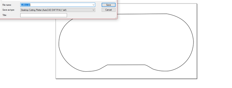 Using Inkscape to Create a DXF File for a Board Outline