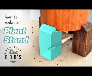 Super Easy DIY Plant Stand