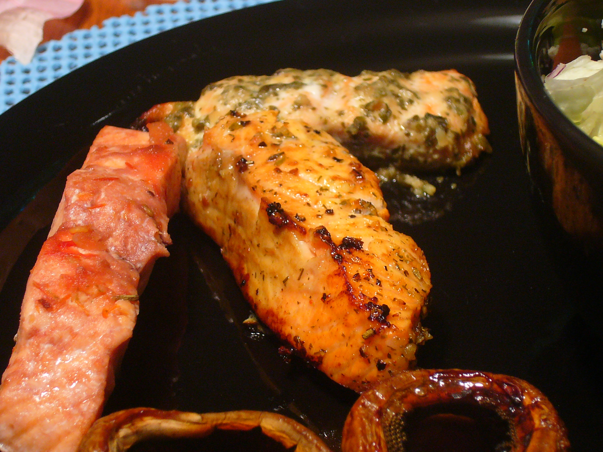 [Collegiate Meals] Three Way Salmon Steaks