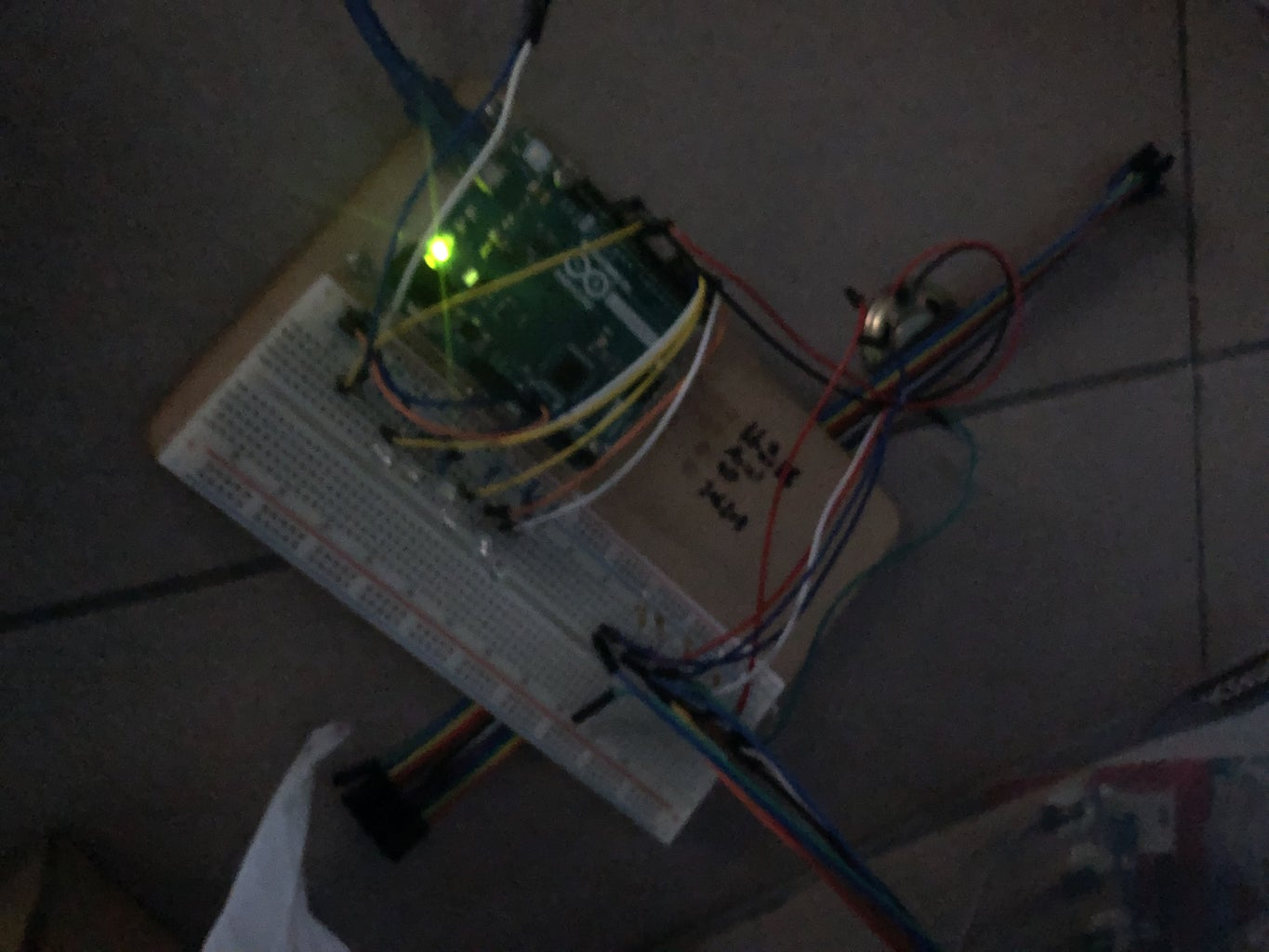 Connecting the LED Lights