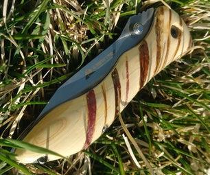 Wood Pocket Knife Handle