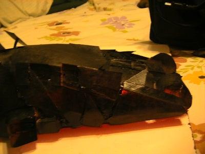 Cardstock Batmobile