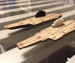 3D & Laser Cut CV-16 Chinese Aircraft Carrier Liaoning